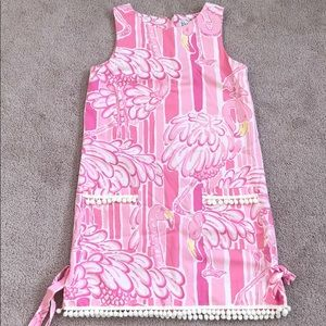 Lilly Pulitzer Neckin Flamingo Classic Shift